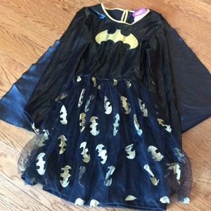 Batgirl costume child large excellent / new tag
